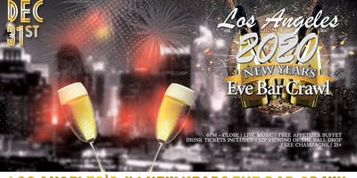 Los Angeles NYE Bar Crawl