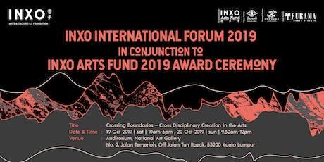 INXO INTERNATIONAL FORUM 2019 tickets