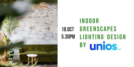 Lighting design for indoor greenscapes