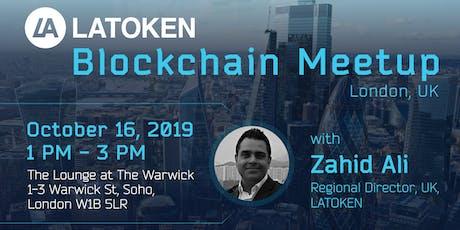 LATOKEN Blockchain Meetup, London, UK tickets
