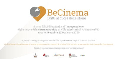 BeCinema - Inaugurazione Sala Cinematografica