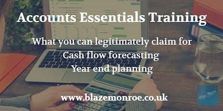 Accounts Essentials Training tickets