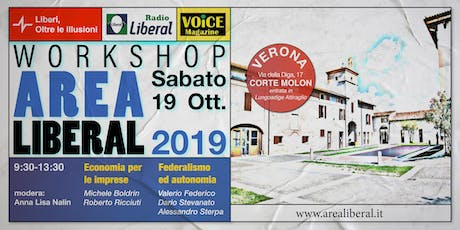 Workshop Area Liberal - Corte Molon - Verona biglietti