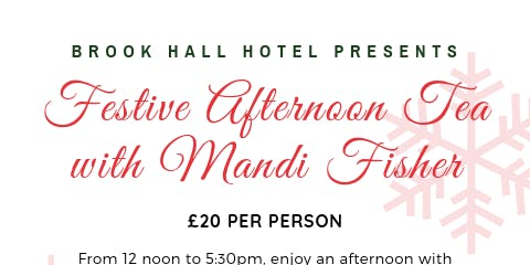 Festive Afternoon Tea with Mandi Fisher