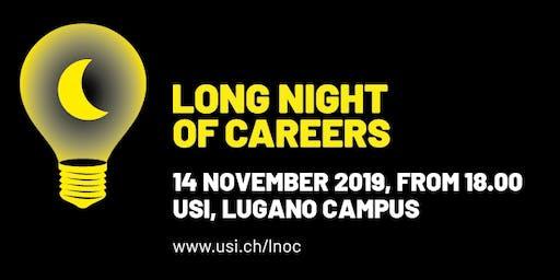Long Night of Careers @ Università della Svizzera italiana (USI)