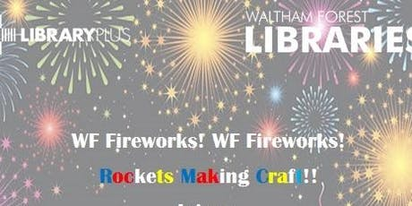 Rocket Making Craft @ Leytonstone Library Plus tickets