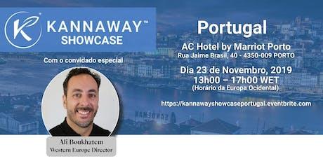 Kannaway Showcase Portugual bilhetes