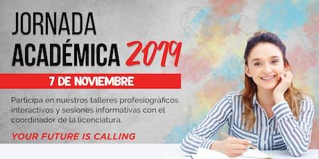 Jueves 7 de noviembre:  Jornada Académica Incarnate Word tickets