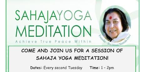 FREE SAHAJA YOGA MEDITATION tickets