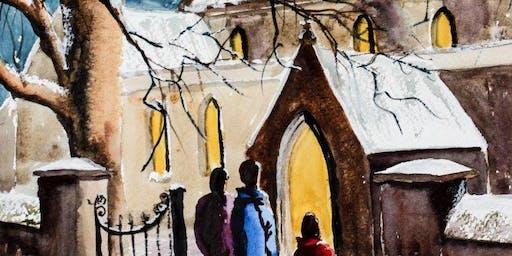 Winter Wonderland in Watercolours Day Workshop