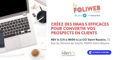 [Saint-Nazaire]  Créez des emails efficaces pour convertir vos prospects en clients billets