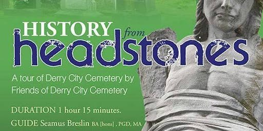 HALLOWEEN WALKING TOURS OF DERRY CITY CEMETERY