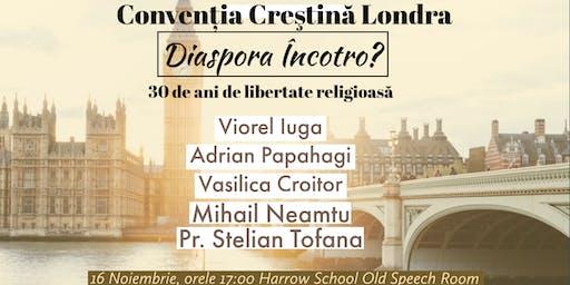 CONVENTIA CRESTINA LONDRA