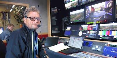 BBC Sport Executive Producer Jonny Bramley at QUB Broadcast Production