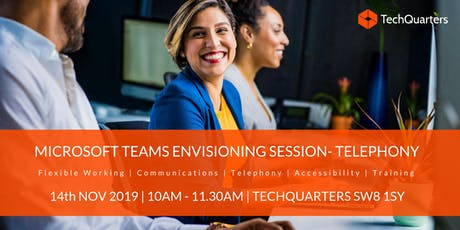 Microsoft Teams Envisioning Session - Telephony tickets
