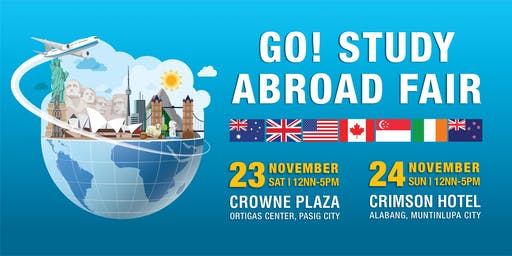 Go! Study Abroad Fair!  - AUSTRALIA, UK, USA, CANADA, NZ, SINGAPORE, & IRELAND