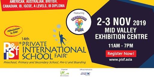 14th Private & International School Fair in Kuala Lumpur