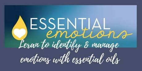 How to use essential oils to support your emotions. tickets