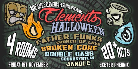 Bare Safe & Elements Halloween tickets