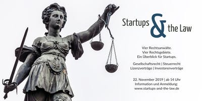STARTUPS and the LAW 2019