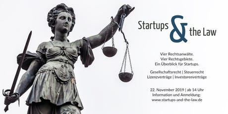 STARTUPS and the LAW 2019 Tickets