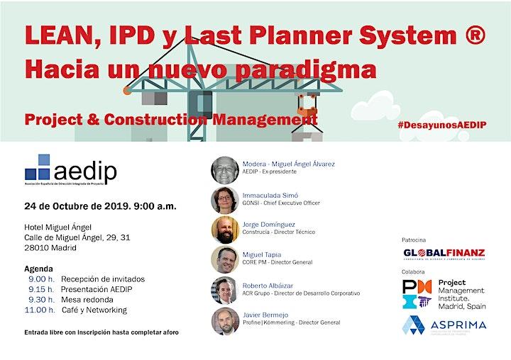 Imagen de LEAN, IPD y Last Planner System® - Hacia un nuevo paradigma