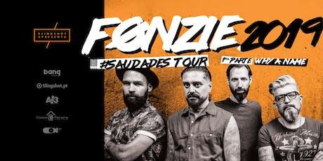 FONZIE #Saudades Tour bilhetes