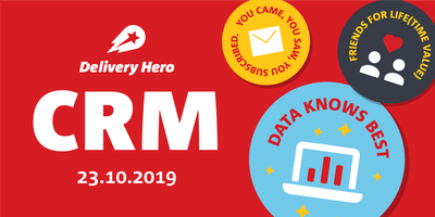 All about 1 Timers: Delivery Hero CRM Event
