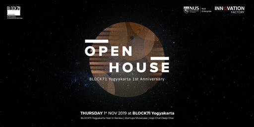 Open House BLOCK71 Yogyakarta