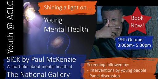 SICK Movie at The National Gallery - A short film about mental health