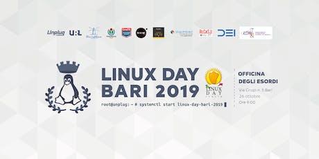 Linux Day Bari 2019 biglietti