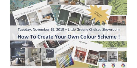 "Refresh Yrslf - Lifestyle  ""Let's Create Your Own Colour Scheme""  by Interior Designer Evren Aras - WORKSHOP billets"