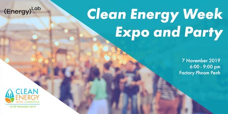 Clean Energy Week Expo and Party tickets