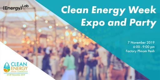 Clean Energy Week Expo and Party