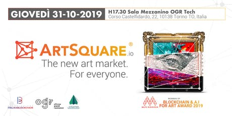 Presentazione ArtSquare-io - The new art market. For everyone. biglietti
