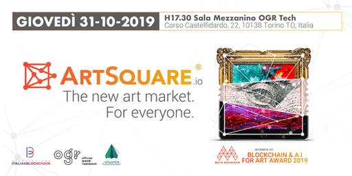 Presentazione ArtSquare.io - The new art market. For everyone.