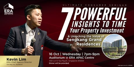 [UCS] 7 Powerful Insights to Time Your Property Investment tickets