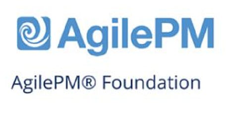 Agile Project Management Foundation (AgilePM®) 3 Days Training in Zurich billets
