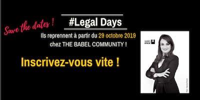 Legal Day: Tout savoir sur le RPGD et la protection des données personnelles.