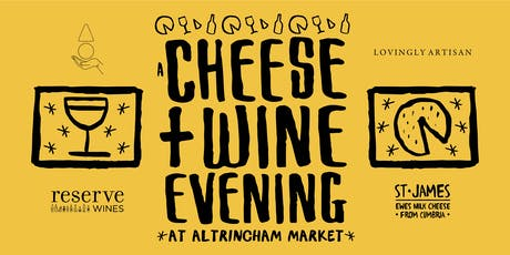 A Cheese & Wine Evening at Altrincham Market tickets