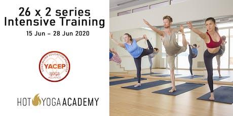 26 x 2 series Intensive Training entradas