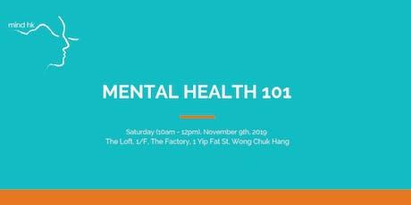 Mind HK: Mental Health 101 November tickets