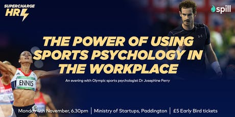 Supercharge HR - Sports Psychologist tickets
