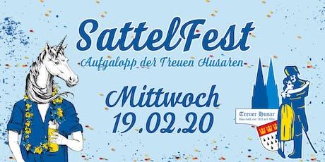 SattelFest - Aufgalopp der Treuen Husaren (DIE Party vor Weiberdonnerstag) Tickets