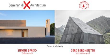 Seminario di Architettura Verona - Architettura e design al centro: creatività, tecnologia, ricerca biglietti