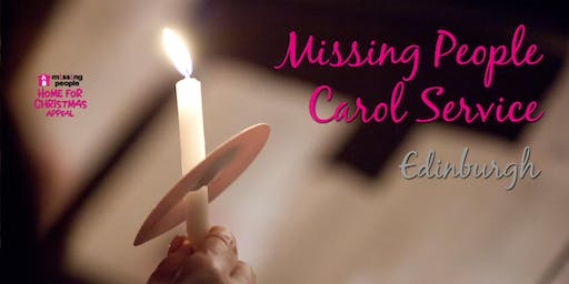 Missing People Carol Service Scotland  2019