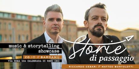 Storie di Passaggio / tour opening biglietti