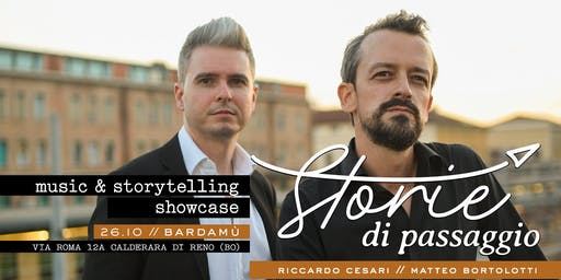 Storie di Passaggio / tour opening