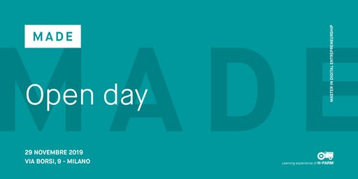 Open Day Master in Digital Entrepreneurship - MADE