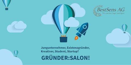 Gründer:Salon #22: Kundengewinnung für Startups - BestSens berichtet Tickets